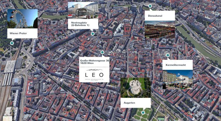 Map 1020 Wien