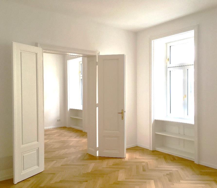 Fertiggestellte Wohnung für Altmieter im Zuge von Crowdinvesting