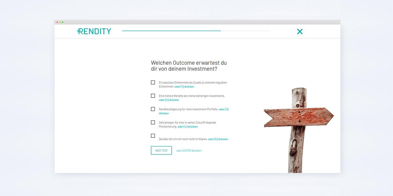 Rendity-Advisor Online-Plattform