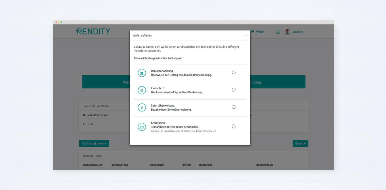 Zahlungsmethoden-Online-Plattform
