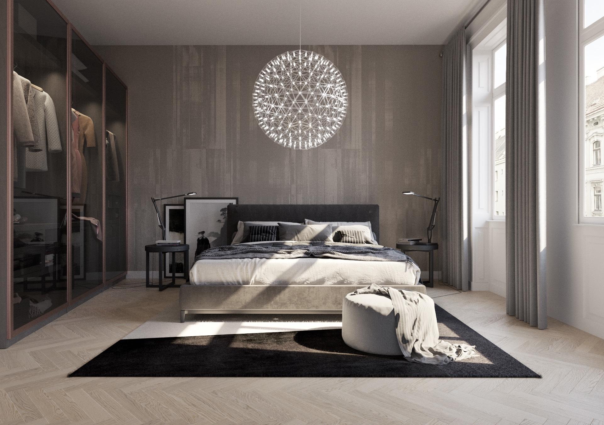 Crowdinvesting - Schlafzimmer-Visualisierung