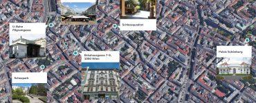 Crowdinvesting Lage im Detail 1050 Wien