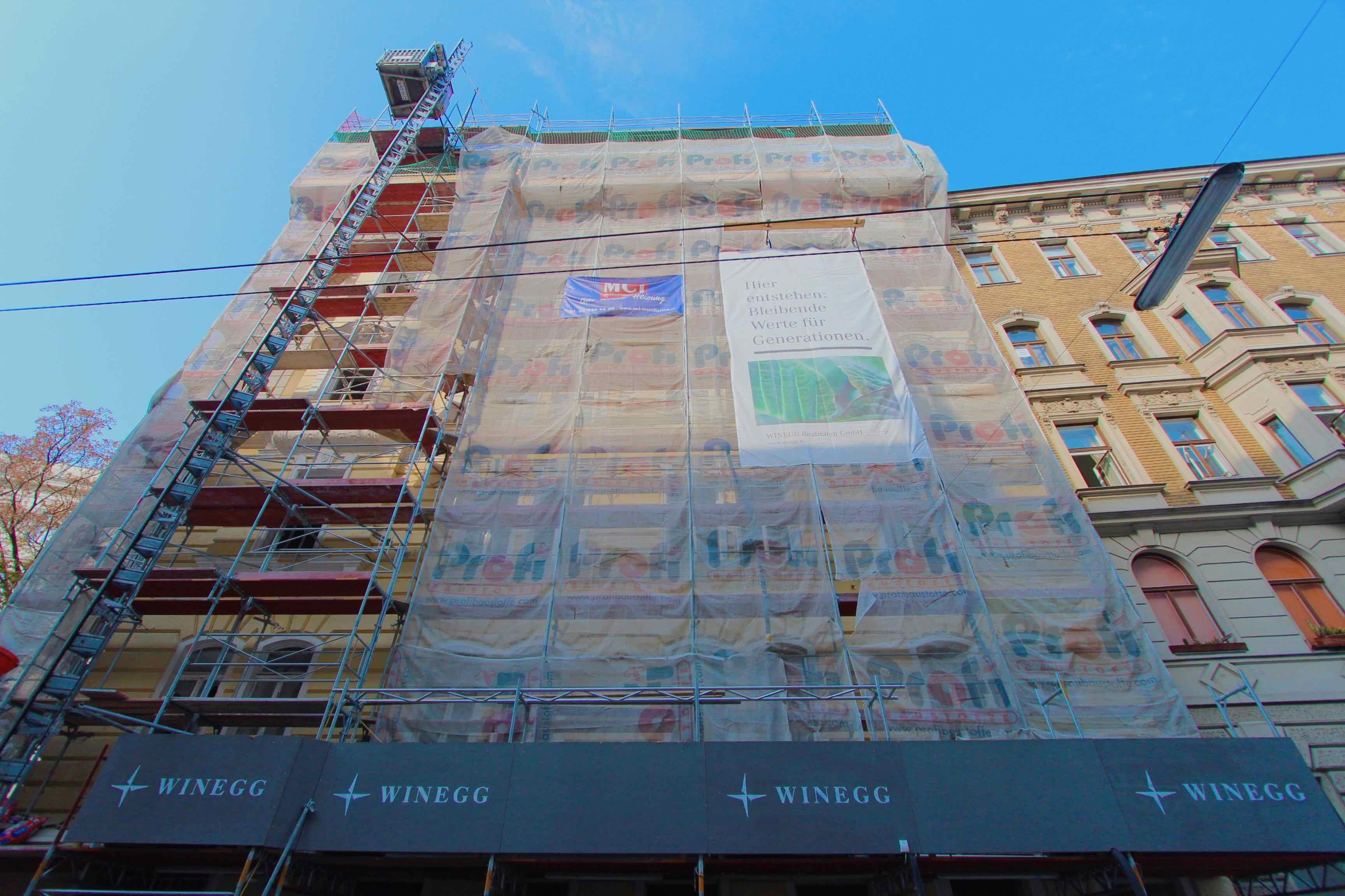 Rendity Crowdinvesting Magdalenenstraße Fassade