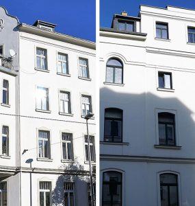 Wohnhäuser in Leipzig