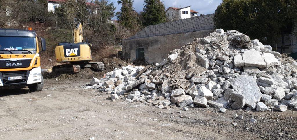 Baustelle Rendity Tullnerbach