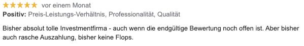 Josef H Erfahrungsbericht