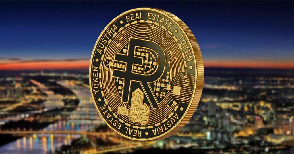 Rendity-Coin bei Nacht