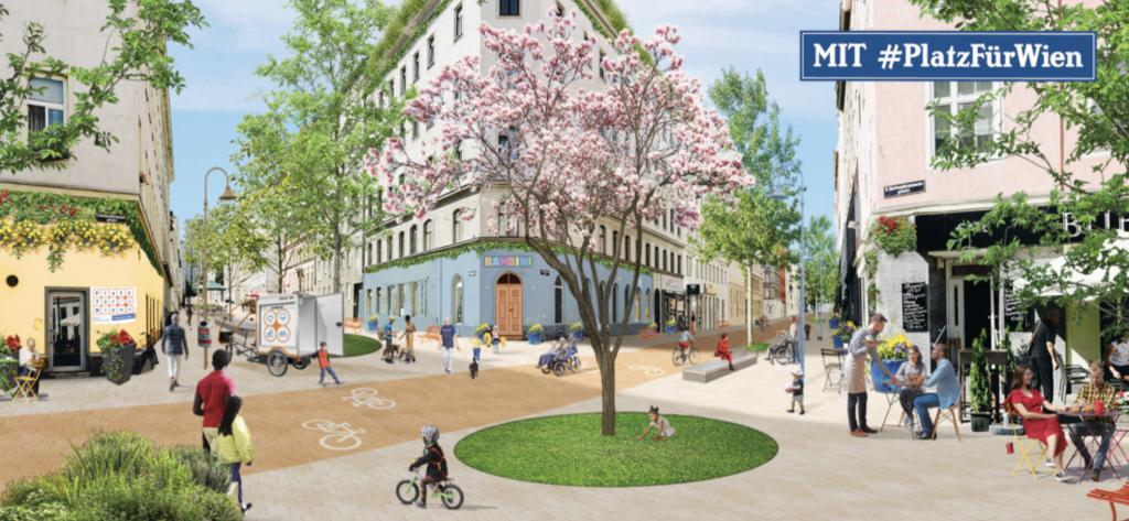 Platz für Wien als Initiative für einen alternativen Verkehr