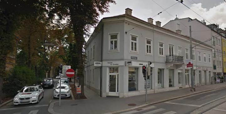 So sah die Hietzinger Hauptstraße im August 2017 aus