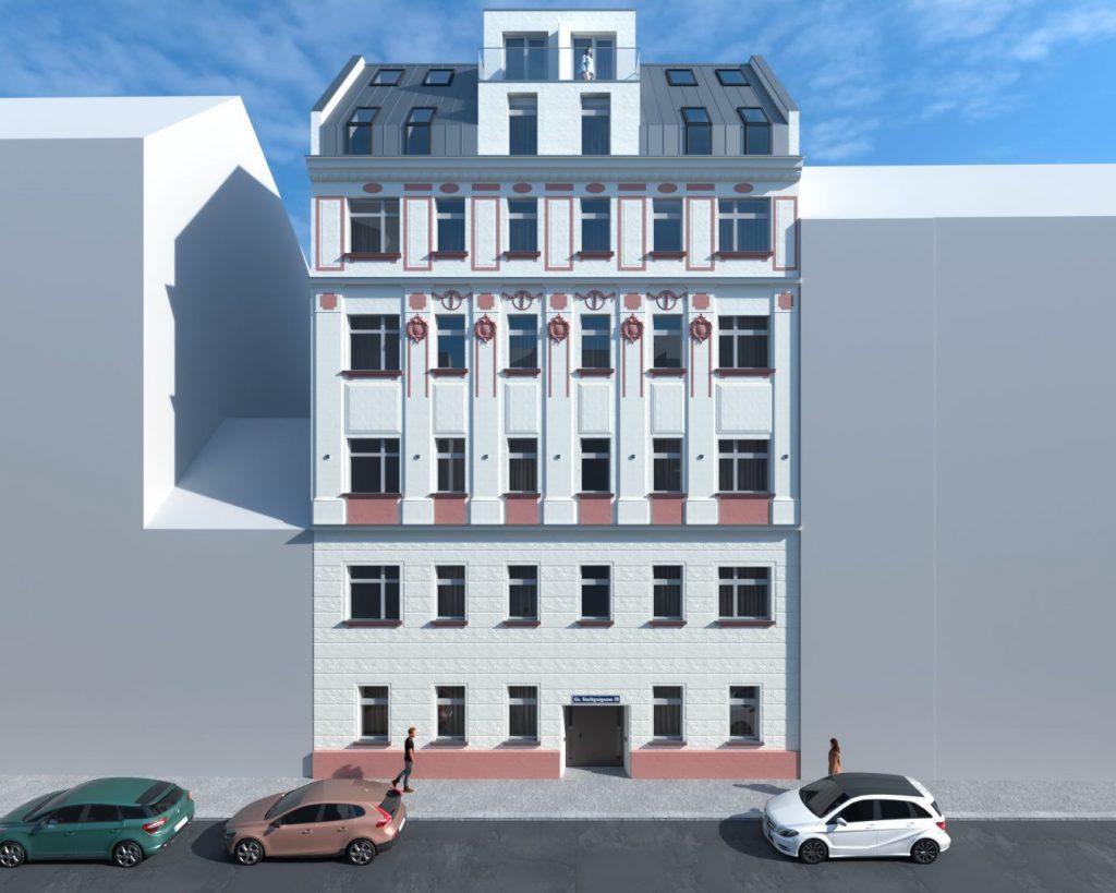 Große Stadtgutgasse im 2. Wiener Gemeindebezirk