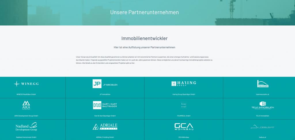 Partnerunternehmen von Rendity